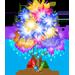 Albero di Fuochi d'Artificio