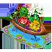 nave famiglia fiori