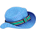Cappello da Sole Blu
