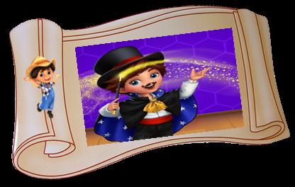 MISSIONE A SCADENZA–Carletto-dini Fa Magia –Darryl-dini's Day of Magic