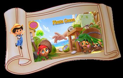 MISSIONE A SCADENZA–Pirata Cocco–Coconut Pirate