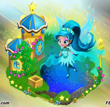 Fée bleutée Bluecap-Fairy